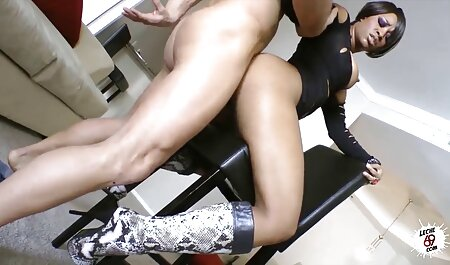 Surprise threesome with vintage hard sex brunette